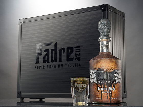 Padre bottle case for Tequila
