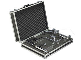 Alu Light sample cases for heating and sanitary