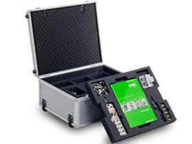 Alu Robust - transport case for measuring and test technology