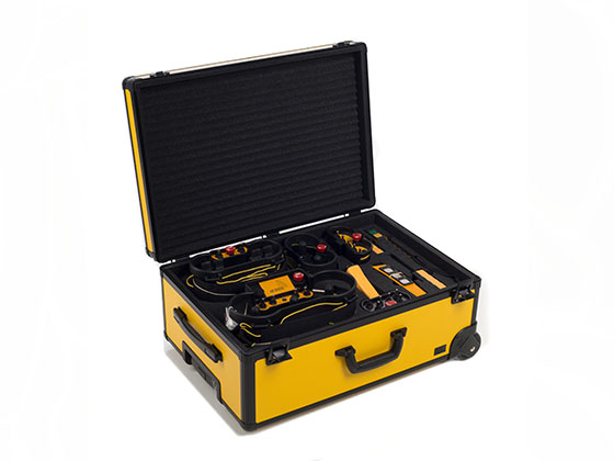 Alu Light alu cases for sensitive measuring and test devices