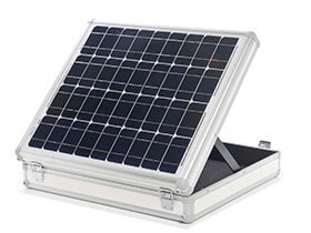 Alu cases for solar engineering