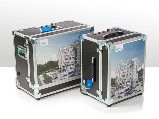 Cargo Air flightcases for telephone providers