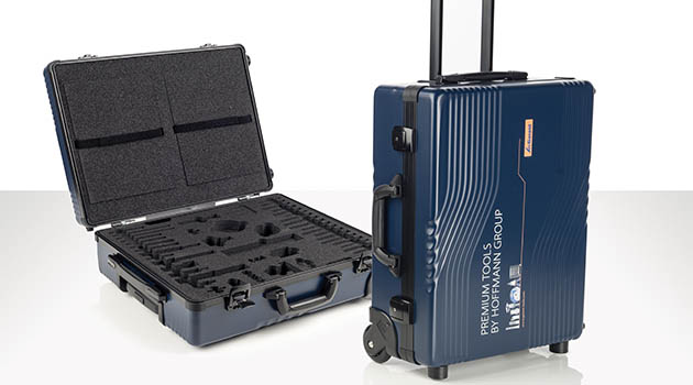 Vario Case hard shell cases with integrated trolley
