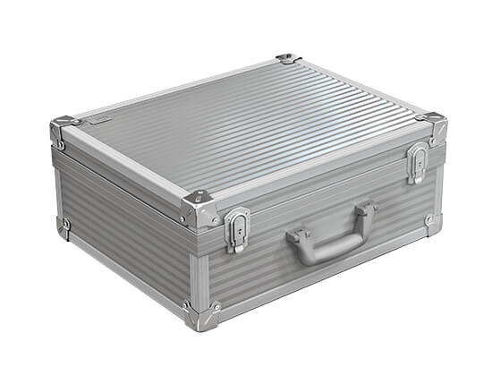 Aluminium cases out of the series Alu Robust
