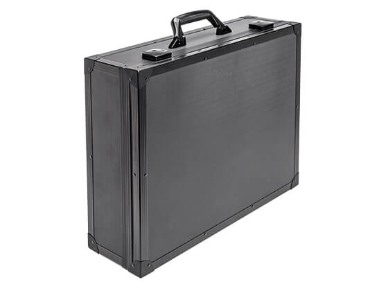 Alu case of the series Alu Solid in black