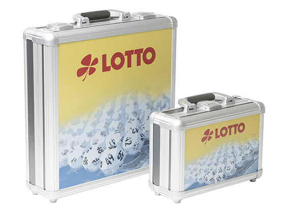 Alu case made for Toto Lotto