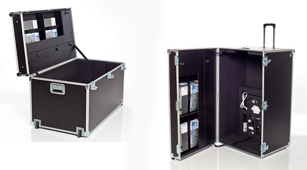 Flightcase, valise de transport