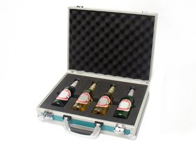 presentation case for bottles