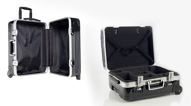 Air Line hardshell case with tailor made foam inserts