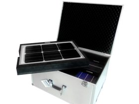 Presentation and demonstration case for Bosch Solar Energy