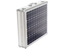 Demonstration case for solar technology with integrated solar modules