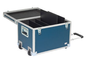 transport case alu air with trolley